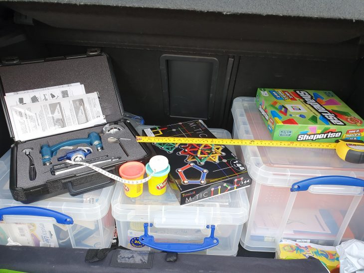 The car boot of an OT!